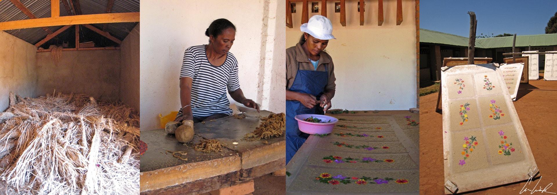 Ambalavao - Antaimoro craft paper