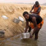 Tsiribihina - Vaisselle sablée