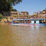 Riviere Tsiribihina - Taxi fluvial