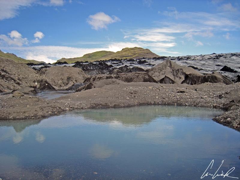 Solheimajokull Icefield