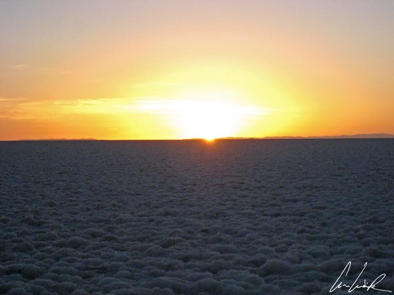 Salar Uyuni - Sunrise
