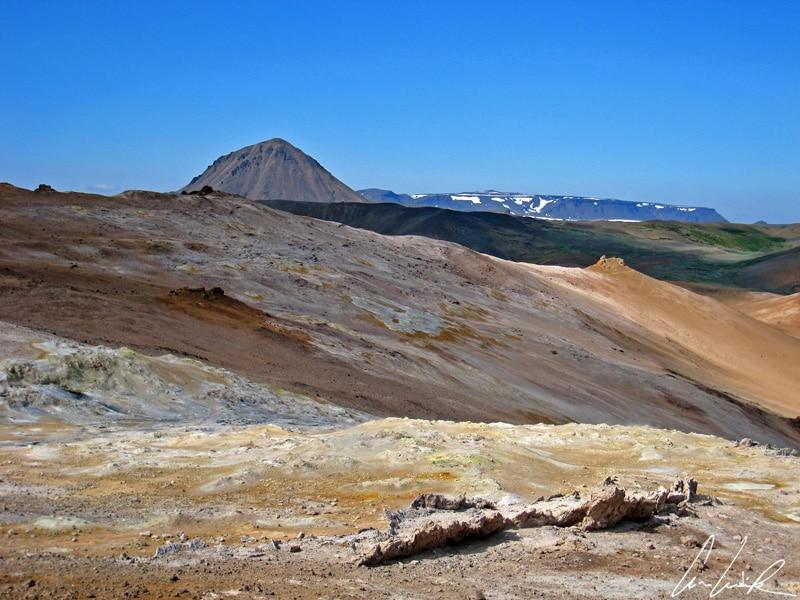 Hverir - Colorful sulfur deposits
