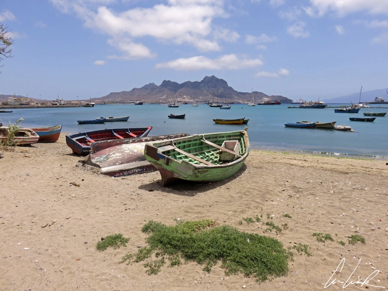 Sao Vicente Mindelo - Fishing boats