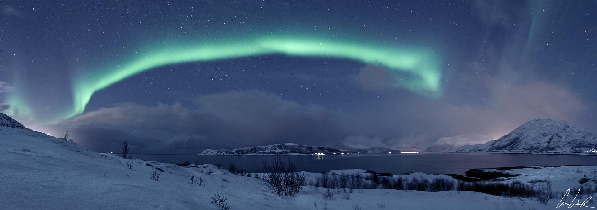 La Laponie, royaume des aurores boréales