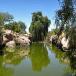 Dans le village de Tocanao, une rivière d'eau douce court dans la Quebrada de Jerez et permet de cultiver un incroyable verger