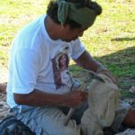 La pierre étant le principal matériau de construction utilisé par les ancêtres, des compétitions de sculptures sont intégrées au Tapati Rapa Nui