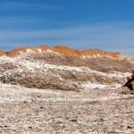 Dans la Vallée de la Lune, déclarée sanctuaire naturel en 1982, le bleu profond du ciel tranche avec les teintes ocre et orangée des reliefs