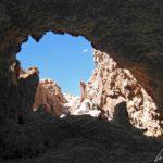 """Dans la Vallée de la Lune, la visite de """"Las cavernas de la sal"""" (les cavernes de sel) est une belle aventure entre canyons et grottes de sel"""