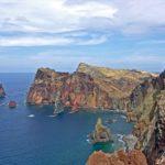 Sur l'île de Madère, la presqu'île de São Lourenço est un paysage rocheux totalement desséché, loin de l'image de l'île toujours verdoyante