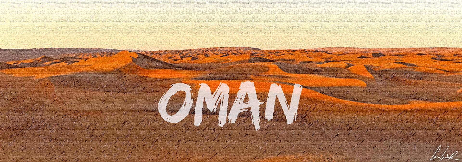 Le Sultanat d'Oman: Terre de traditions ancestrales et d'échanges mais aussi de déserts de sable et de vallées verdoyantes.
