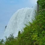 Moins impressionnantes, avec seulement 17 mètres de large, les Bridal Veil Falls sont situées dans la continuité des American Falls, entourées de verdure.