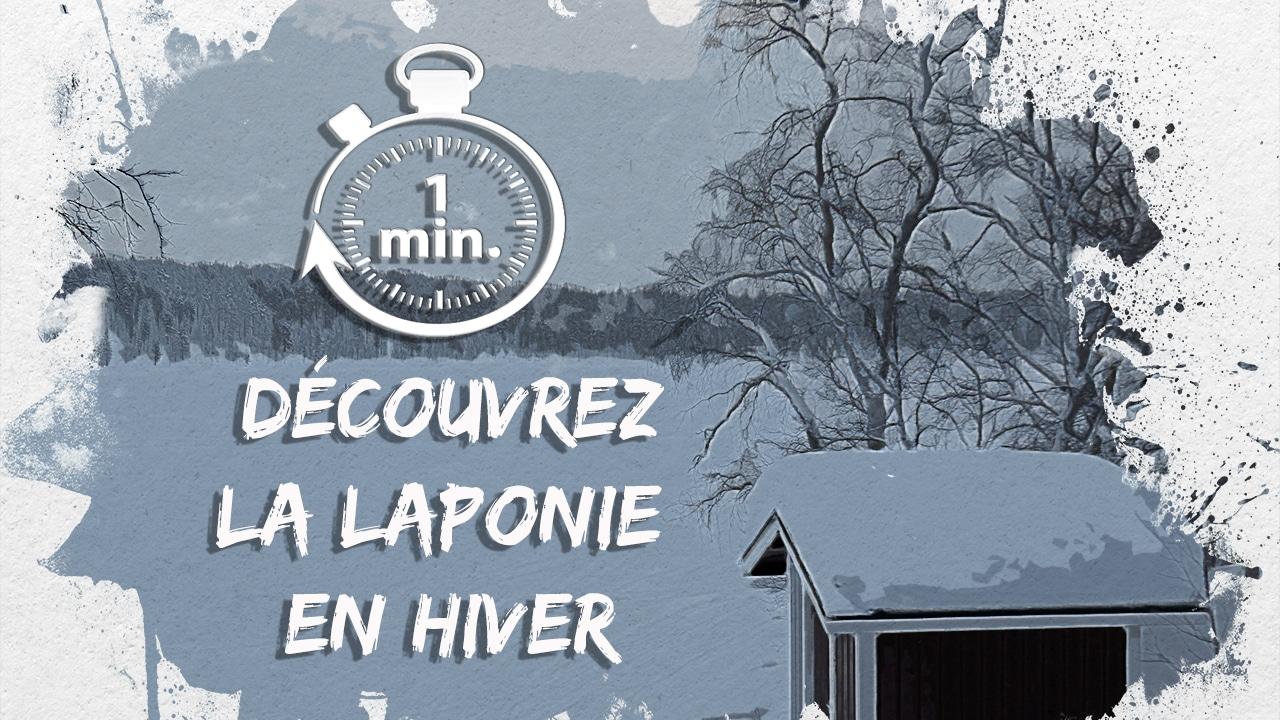 """Découvrez la magie de la Laponie en hiver en 1 minute chrono avec cette vidéo. La Laponie est une expérience unique: bienvenus dans ce """"Paradis Blanc"""" !"""